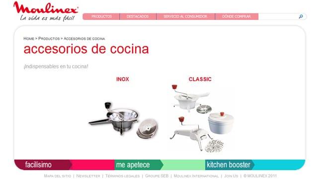 Tienda online Moulinex